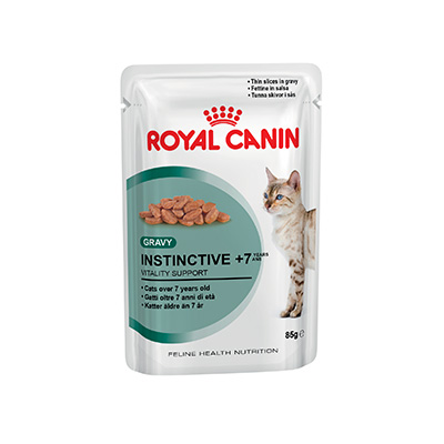 royal canin instinctive 7 pouch patches and paws. Black Bedroom Furniture Sets. Home Design Ideas